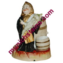 Character Figure Bisque Porcelain Munich Child radish - GermanStein