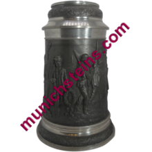 44010 - Regimental Pewter Beer Stein
