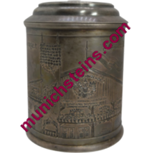 44011 - Pewter Beer Stein