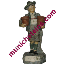 "Antique Terracotta JM #6836 12"" Figural"
